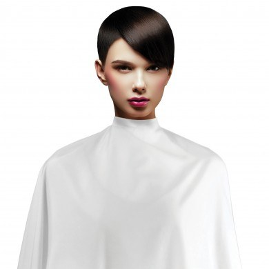 Cricket CAPES: Contouring Haircutting Cape - in White