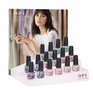 OPI Always Bare for You: 16 Piece Retail Display