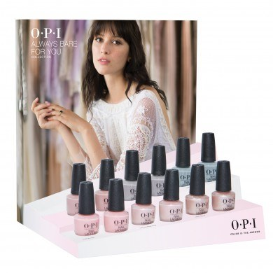 OPI Always Bare for You: 24 Piece Retail Display