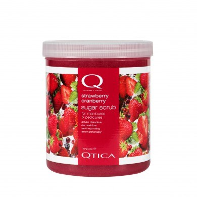 Qtica Strawberry Cranberry Sugar Scrub